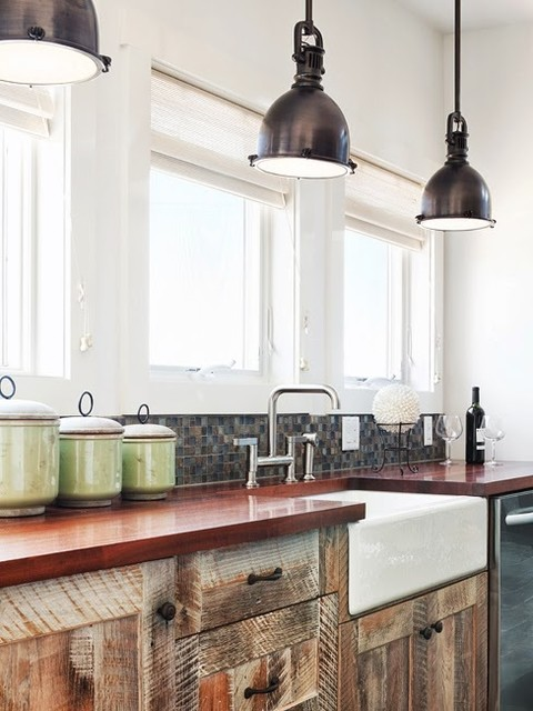 New Moon Cottage Industrial Kitchen Other Metro By