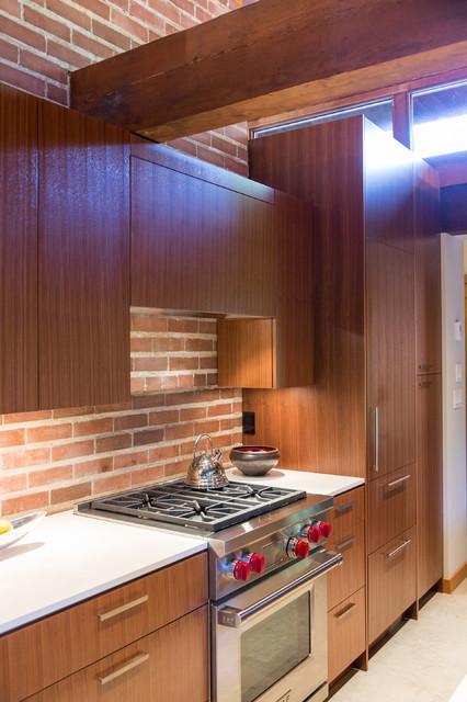 New Moon Rising midcentury-kitchen