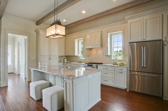 Lot 539 Terra Bella Subdivision Traditional Kitchen New Orleans By Highland Homes Inc