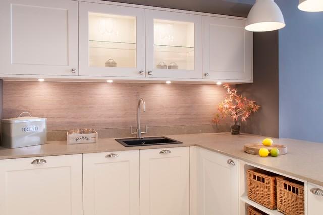 New Shaker Kitchen Heathfield Showroom Traditional Kitchen Sussex By Black Rok Kitchen