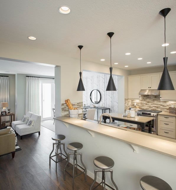 New showhomes calgary edmonton for Modern home decor edmonton