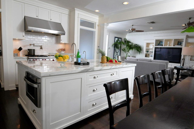 Http Www Houzz Com Photos 3395241 New Suburb Beautiful Craftsman Style Remodel Craftsman Kitchen Tampa