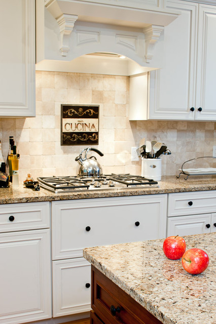 New Venetian Gold Granite Countertops traditional kitchen