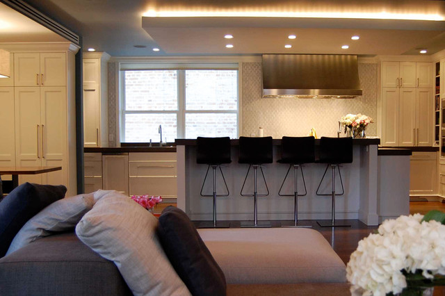 New York Apartment contemporary-kitchen