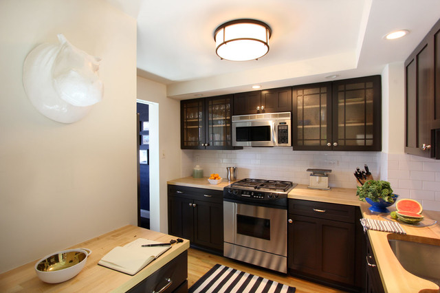New York City Apartment contemporary-kitchen