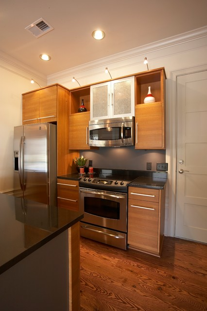 New york hatters modern kitchen wilmington by amy for Modern kitchen design new york