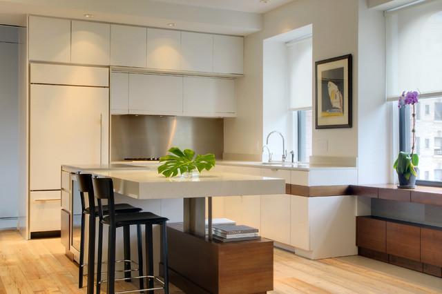 New york loft contemporary kitchen new york by for New york loft kitchen design