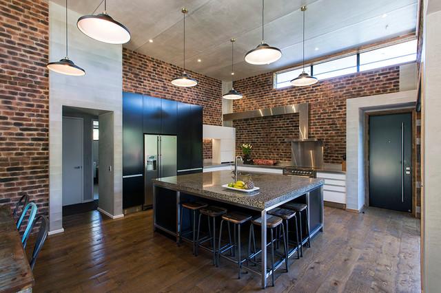 Tremendous New York Loft Style Kitchen Industrial Kitchen Home Interior And Landscaping Eliaenasavecom
