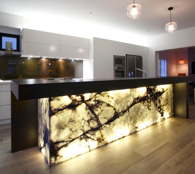 New york marble kitchen contemporary kitchen sydney for Modern kitchen design new york