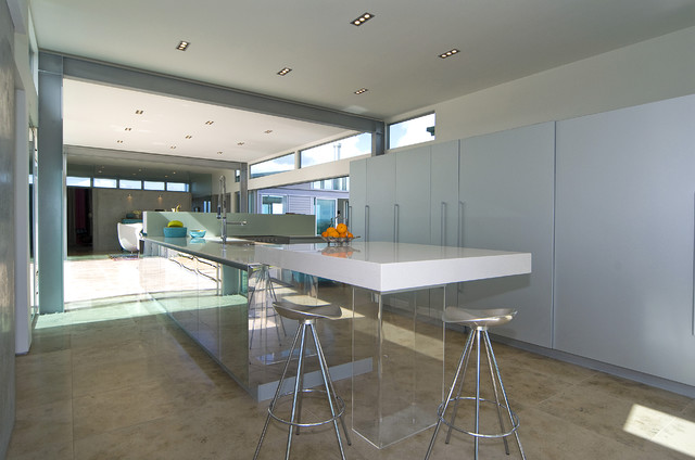 New Zealand Contemporary Contemporary Kitchen Auckland By Hamlet Projects