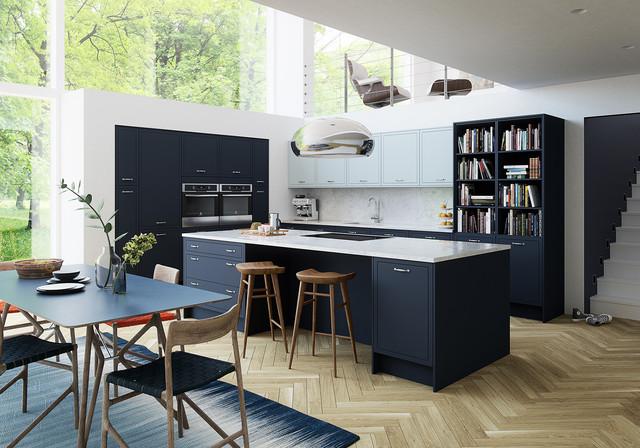 Newbury Midnight Contemporary Kitchen