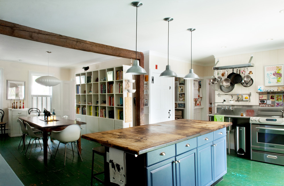 Newburyport, MA - Rustic - Kitchen - Boston - By Mary Prince Photography
