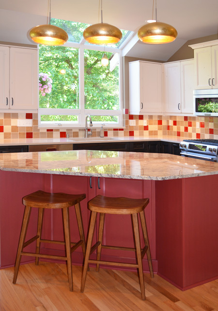 Newcastle kitchen remodel eclectic seattle by brett for Kitchen designs newcastle