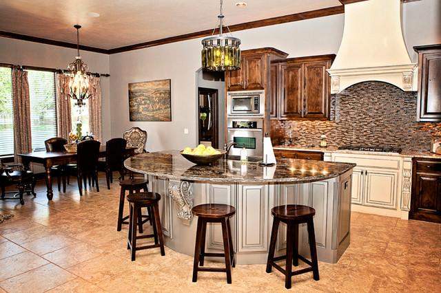 Newcastle, OK Custom Home traditional-kitchen