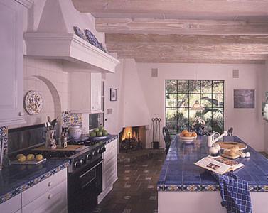 newdesignstudios.com - Mexican mediterranean-kitchen