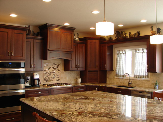 Newgate traditional kitchen denver by castle for Castle kitchen cabinets