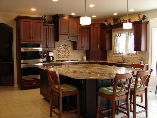 Newgate - transitional - kitchen - denver - by Castle Kitchens and