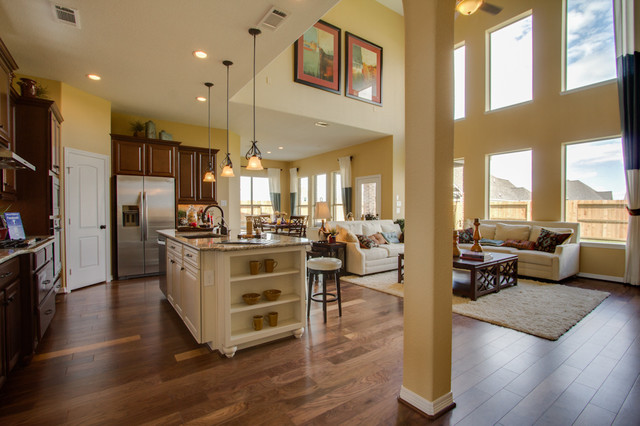 Newmark Homes - Family Room - Buckingham traditional-kitchen