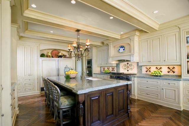 Newport Beach Custom Home traditional-kitchen