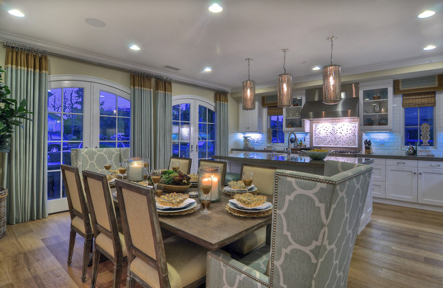 Newport Beach - Dining Room traditional-kitchen