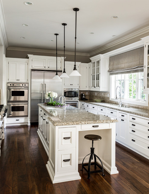 Newport beach traditional kitchen los angeles by l for Kitchen designs houzz