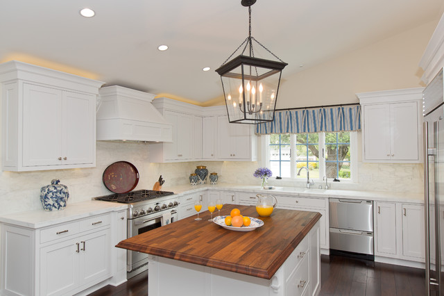 Newport Beach Whole Home Remodel beach-style-kitchen