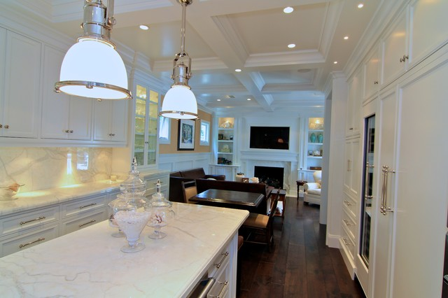 Newport Coast Home traditional kitchen