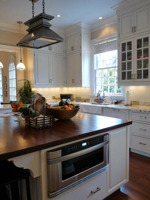 newport coast home traditional-kitchen