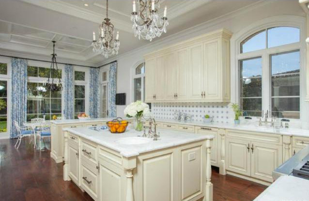 Newport Coast Mansion Traditional Kitchen Los