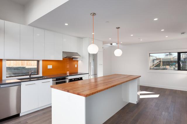 Newport Lane House contemporary-kitchen