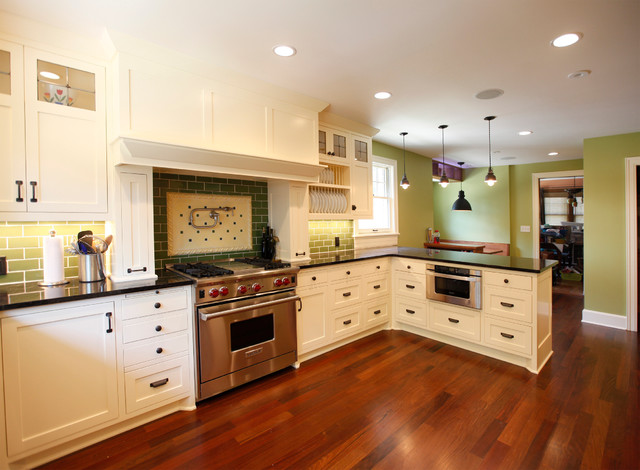 Newton Avenue Residence traditional-kitchen