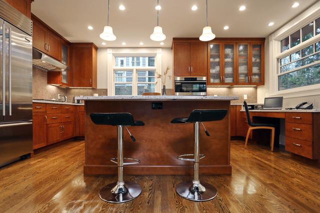 Newton Kitchen Remodel Contemporary Kitchen Boston By New England Design Construction