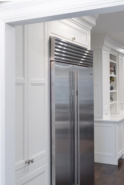 Newton, MA Inset Kitchen traditional-kitchen
