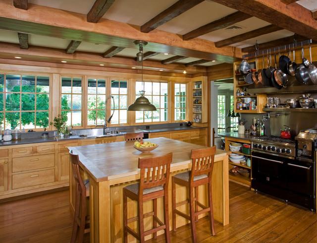 Newtown Residence Rustic Kitchen Philadelphia By