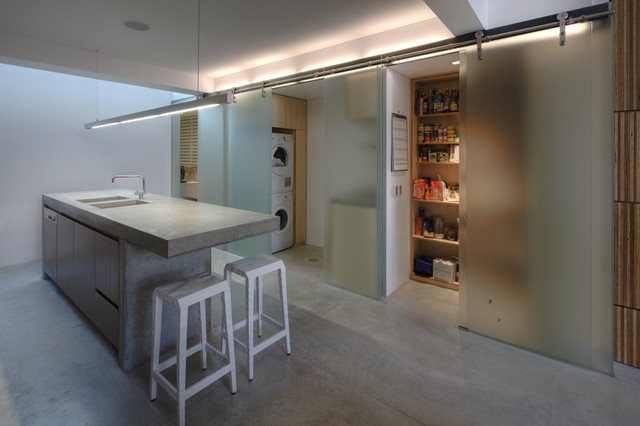 Newtown Terrace contemporary kitchen