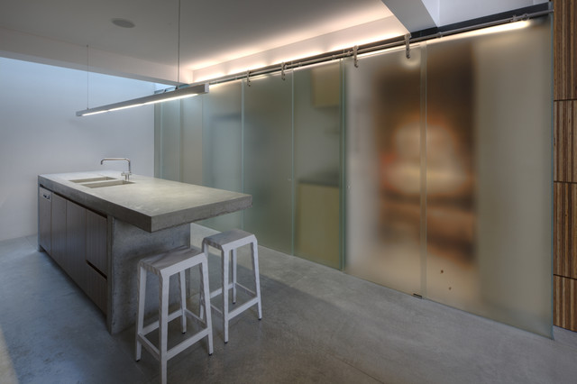 Newtown Terrace contemporary-kitchen