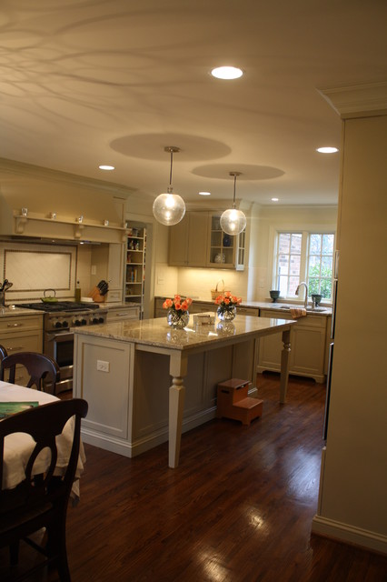 Nice kitchen space traditional-kitchen