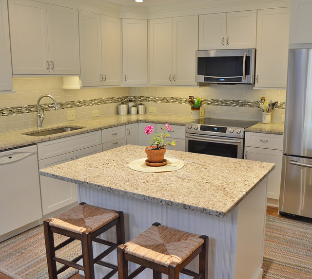 Nice West Chester Townhome Kitchen And Powder Room Remodel For Under 36k Traditional Kitchen