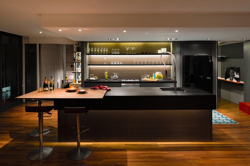 Foto di una cucina contemporanea