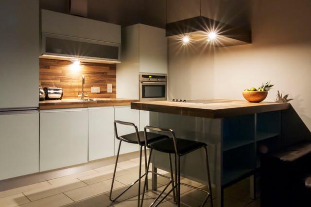 Night Time Kitchen Modern Kuche Dublin Von Rcd Design Houzz