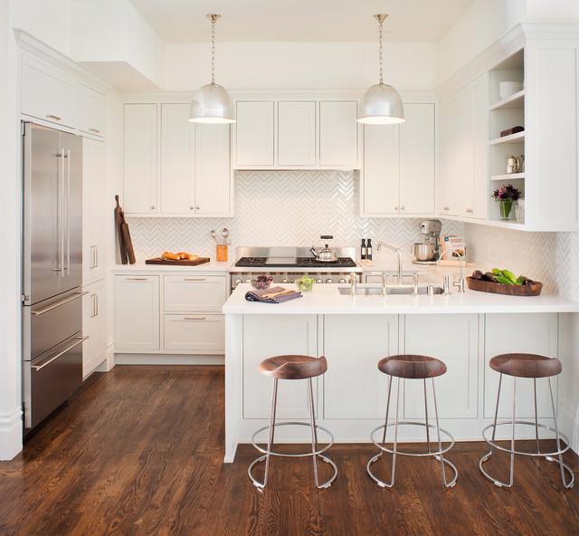 White Kitchen Remodel Pictures: Noe Valley Kitchen