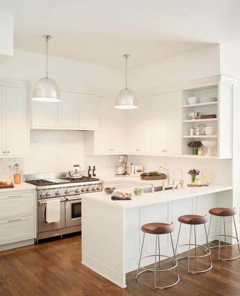 Kitchen - transitional kitchen idea in San Francisco
