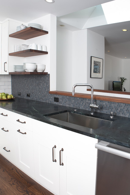 Noe Valley remodel modern kitchen