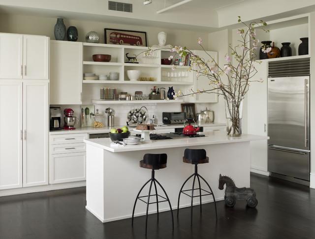 Noho Loft eclectic-kitchen