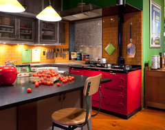 NoHo Loft industrial-kitchen