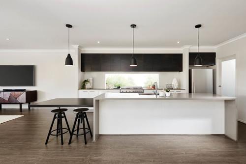 20 façons de sublimer une cuisine contemporaine avec du noir
