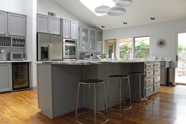 sherwin williams contemporary kitchen - photo #42
