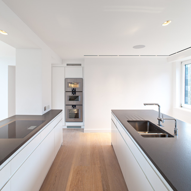 Norfolk House Contemporary Kitchen London By