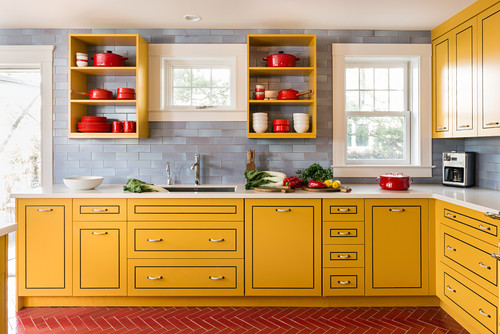 These 6 Jewel Tones Are Making Kitchens Shine