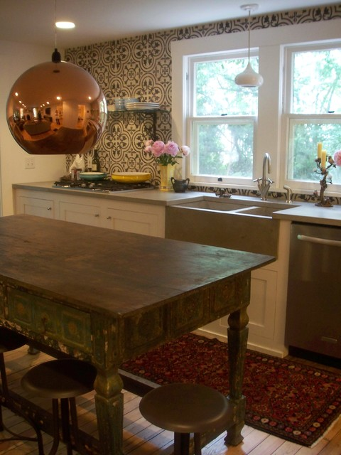 Normandy 2 Install eclectic-kitchen